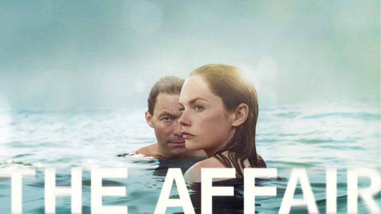 Dominic West and Ruth Wilson get steamy in the pool for The Affair