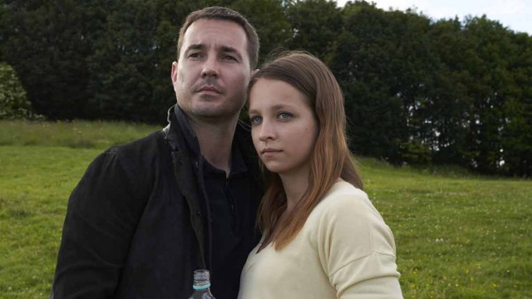 Molly Windsor and Martin Compston in Traces