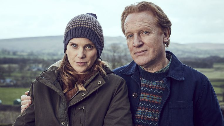 Liz White and Daniel Flynn in Unforgotten