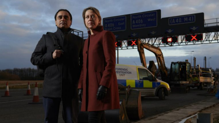 Sanjeev Bhaskar and Nicola Walker