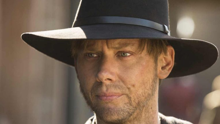 Jimmi Simpson as young William in Westworld