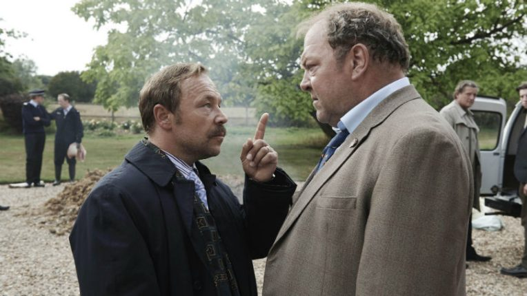 Stephen Graham and Mark Addy in White House Farm