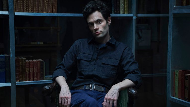 Penn Badgley plays Joe Goldberg in You