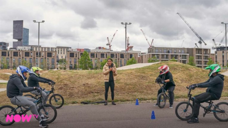A League of Their Own BMX challenge