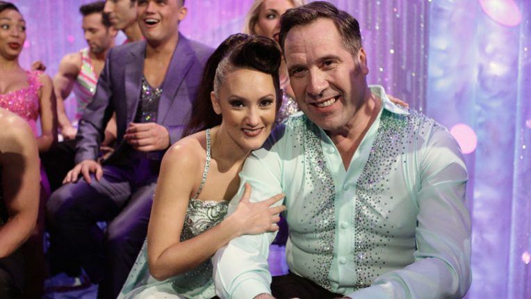 Dancing on Ice Frankie Poultney and David Seaman
