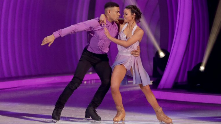 Dancing on Ice Wes Nelson and Vanessa Bauer