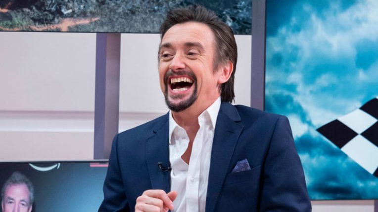Richard Hammond laughing in an ITV interview