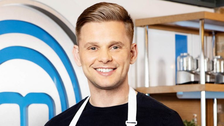 Jeff Brazier in the Celebrity MasterChef Kitchen