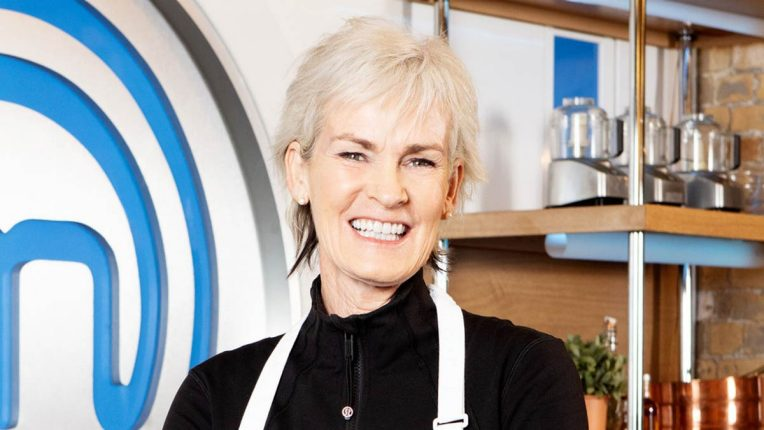 Judy Murray in the Celebrity MasterChef Kitchen