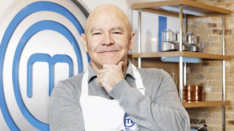 Dom Littlewood in the Celebrity MasterChef Kitchen