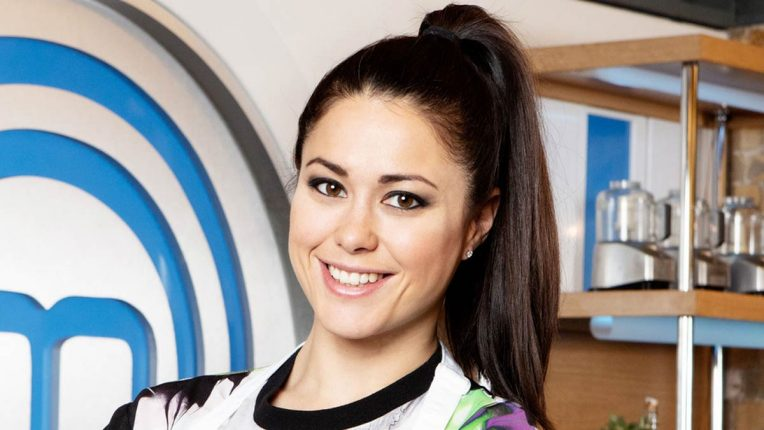 Sam Quek in the Celebrity MasterChef Kitchen