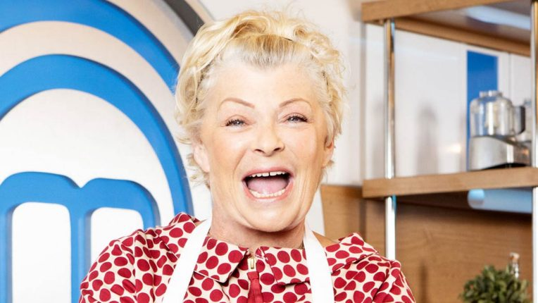 Crissy Rock in the Celebrity MasterChef Kitchen