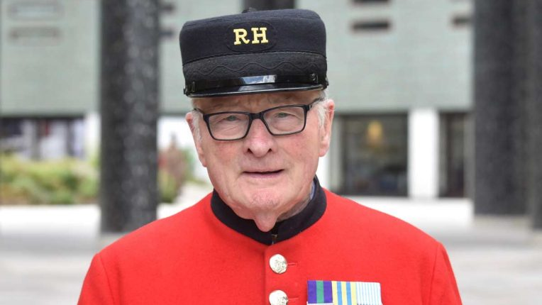 Chelsea pensioner Colin Thackery was the 2019 BGT winner