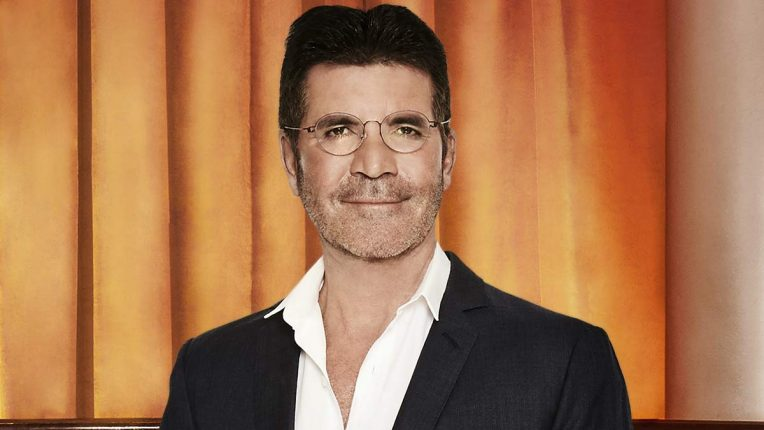 Simon Cowell poses for Britain's Got Talent 2020