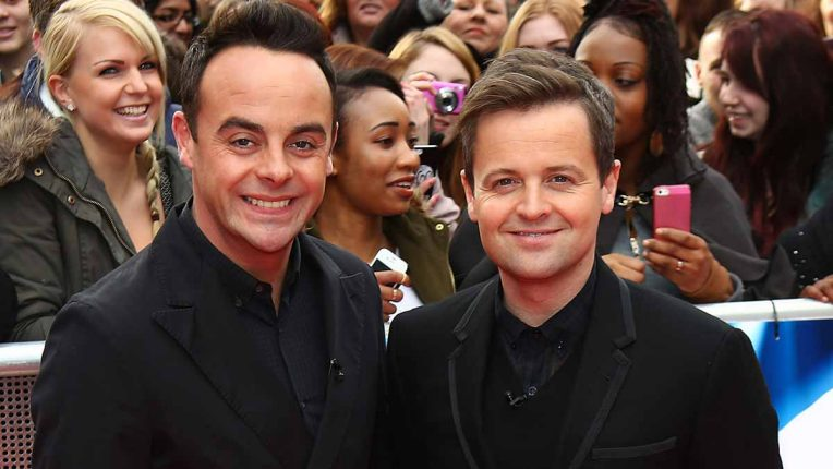 Ant and Dec at Britain's Got Talent auditions