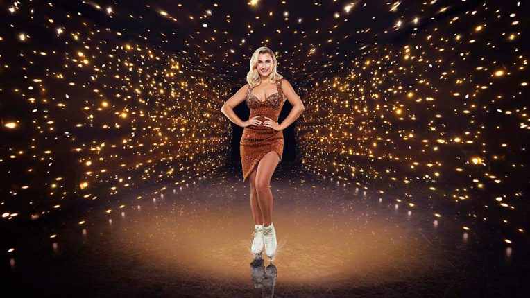 Billie Shepherd in Dancing on Ice