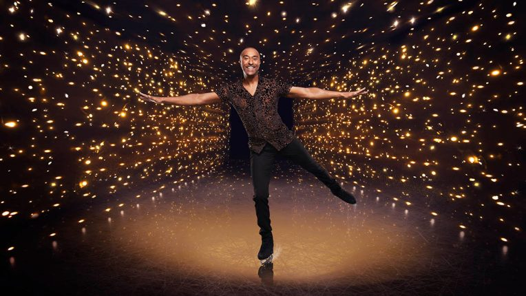 Colin Jackson in Dancing on Ice