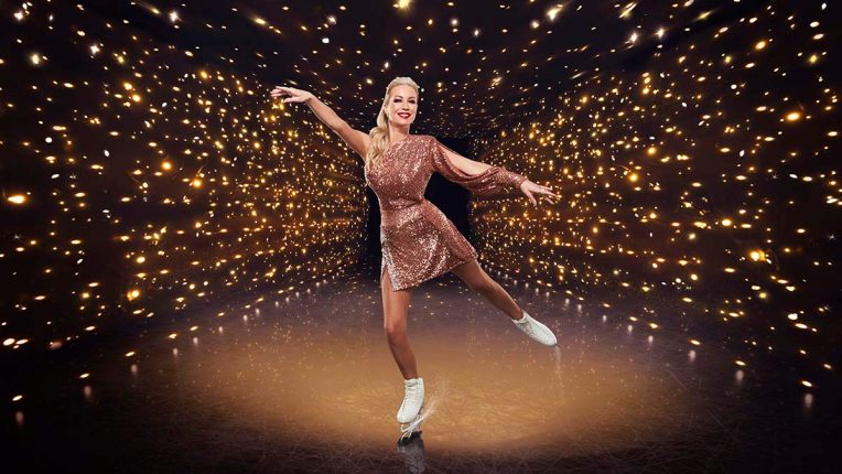 Denise Van Outen in Dancing on Ice
