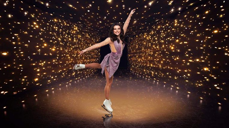 Faye Brookes in Dancing on Ice