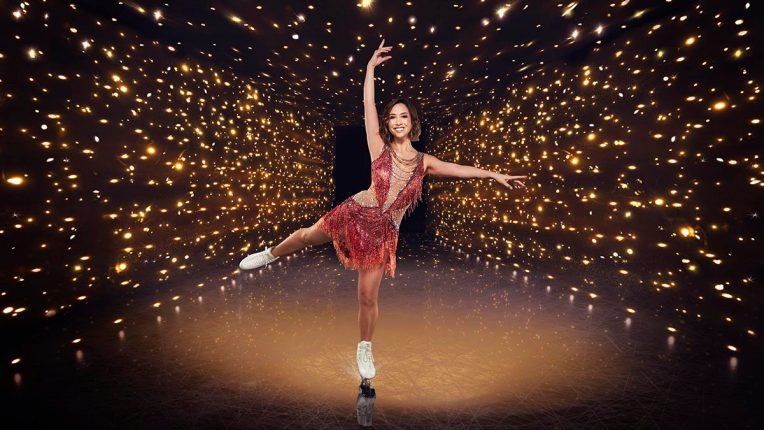 Myleene Klass in Dancing on Ice
