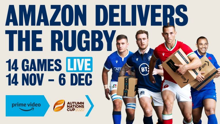 Autumn Nations Cup airs on Amazon Prime Video in November