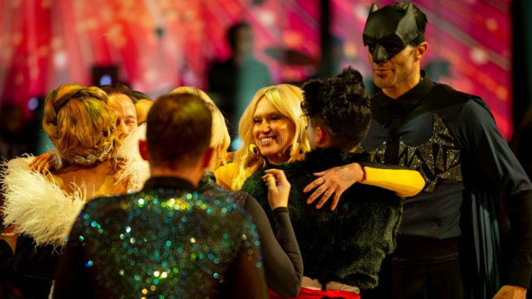 Strictly Anneka Rice exit