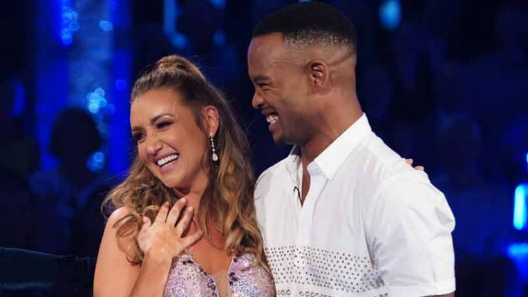 Strictly Catherine Tyldesley and Johannes Radebe