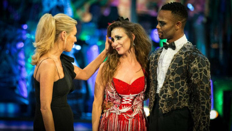 Strictly Catherine Tyldesley and Johannes Radebe exit