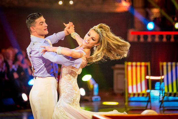 Strictly Abbey Clancy and Aljaz Skorjanec