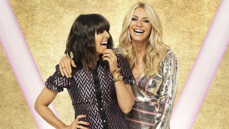 Strictly Claudia Winkleman and Tess Daly
