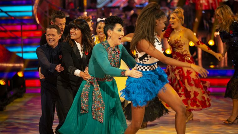 Strictly Mike Bushell exit conga