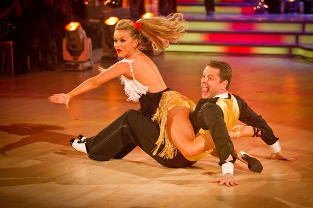 Strictly Chris Hollins and Ola Jordan