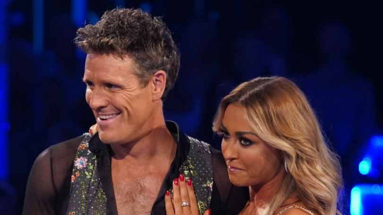 Strictly James Cracknell and Luba Mushtuk