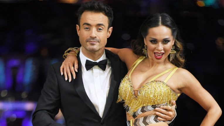 Strictly Joe McFadden and Katya Jones