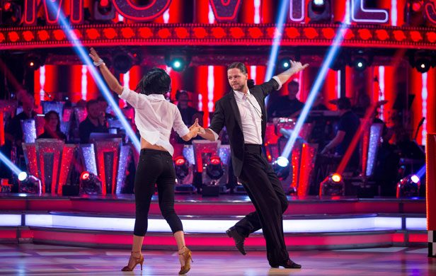 Strictly Jay McGuiness and Aliona Vilani