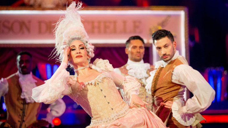 Strictly Michelle Visage and Giovanni Pernice Vogue
