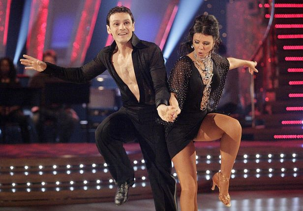 Strictly Mark Ramprakash and Karen Hardy