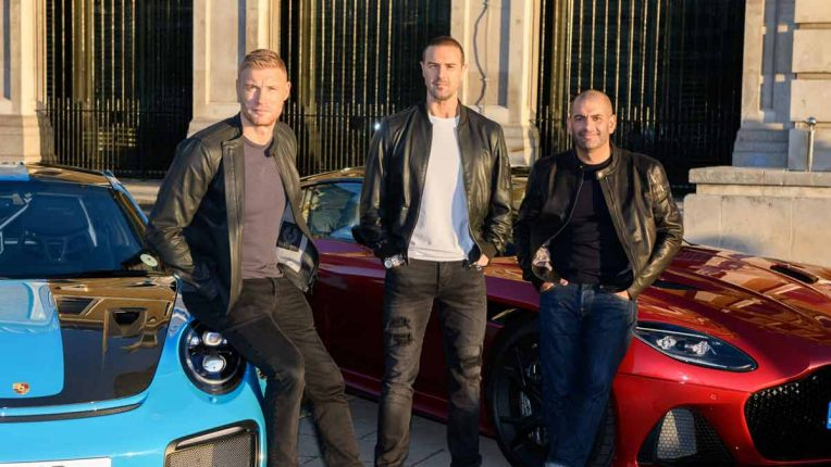 New look Top Gear with Paddy McGuinness, Freddie Flintoff and Chris Harris