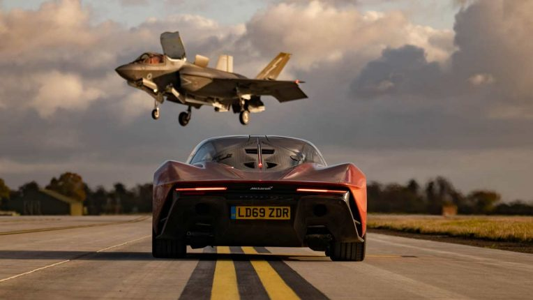 Top Gear on BBC Two - McLaren Speedtail races a jet
