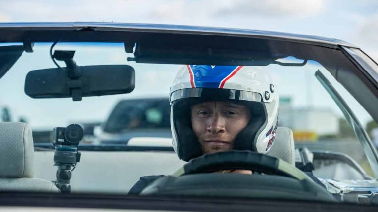 Freddie Flintoff on Top Gear