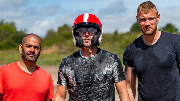 Paddy McGuinness, Freddie Flintoff and Chris Harris relaunch Top Gear