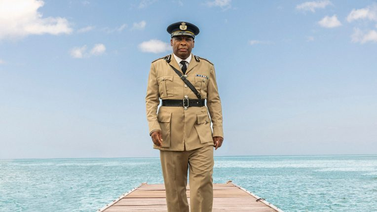 Don Warrington as Commissioner Selwyn Patterson in Death in Paradise