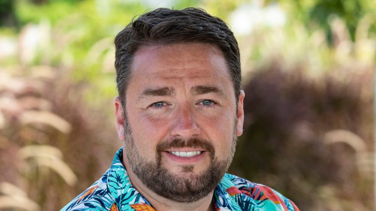 Jason Manford in Death in Paradise