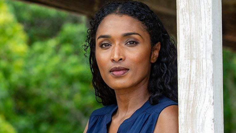 Sara Martins as Camille Bordey in Death in Paradise