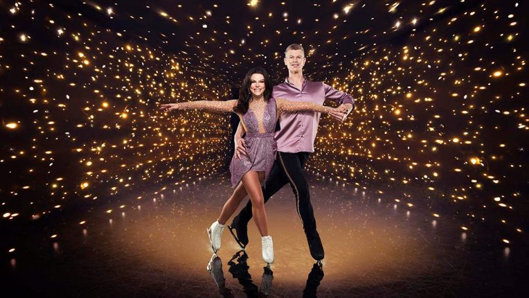 Faye Brookes and Hamish Gaman on Dancing on Ice