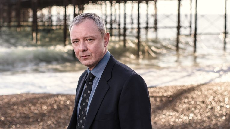 John Simm as DS Roy Grace
