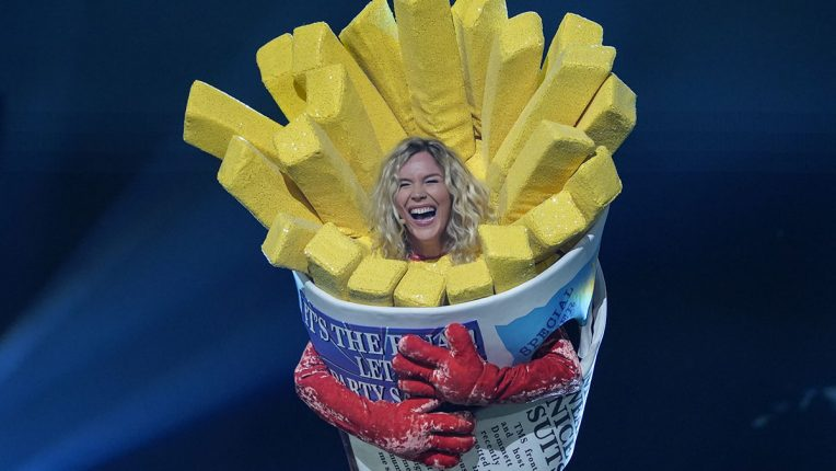 Joss Stone as Sausage in The Masked Singer