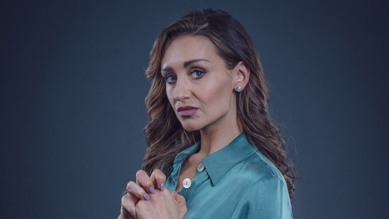 Catherine Tyldesley plays Kate Tuckman in Viewpoint