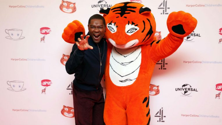 The Tiger Who Came to Tea David Oyelowo