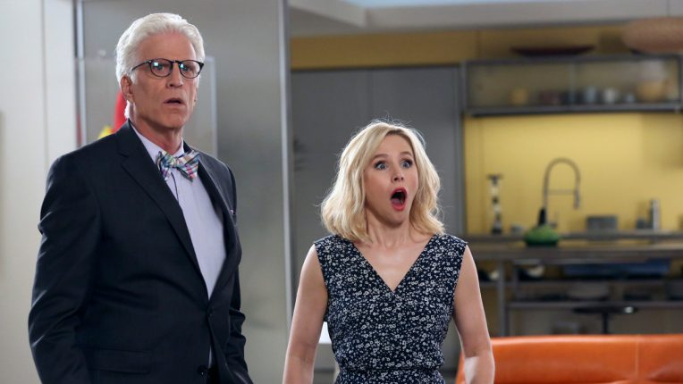 The Good Place Ted Danson Kristin Bell